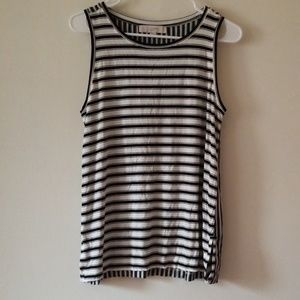 NWT LOFT Striped Tank